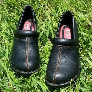 Canyon River Blues Clogs Sz 10M Black Leather